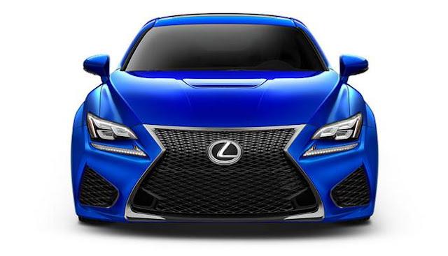 2017 Lexus RC F Release