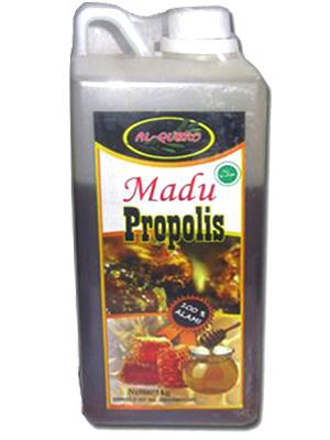 Madu Propolis al qubro, madu al qubro asli propolis, madu propolis al qubro murni