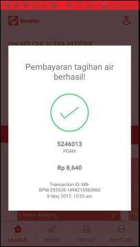 Bayar tagihan pdam online
