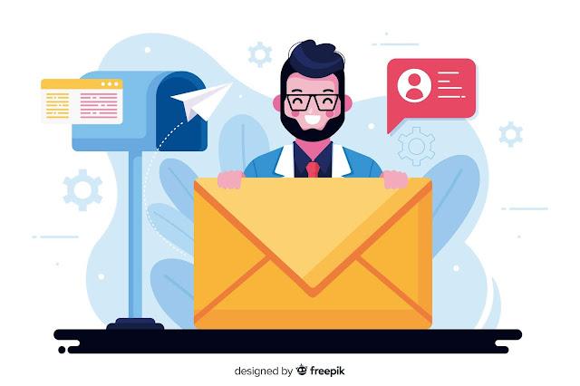 Buat email dengan domainmu sendiri.