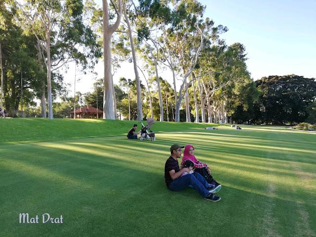 Sunset  King Park & Botanic Garden Perth View