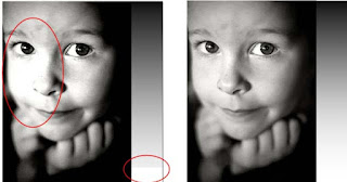 The result of dot gain is loss of highlights.