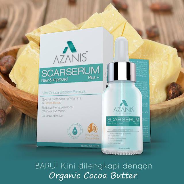 Azanis Scar Serum Vita-Cocoa Booster Formula