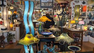 Art glass shop
