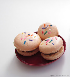 Confetti Macaron