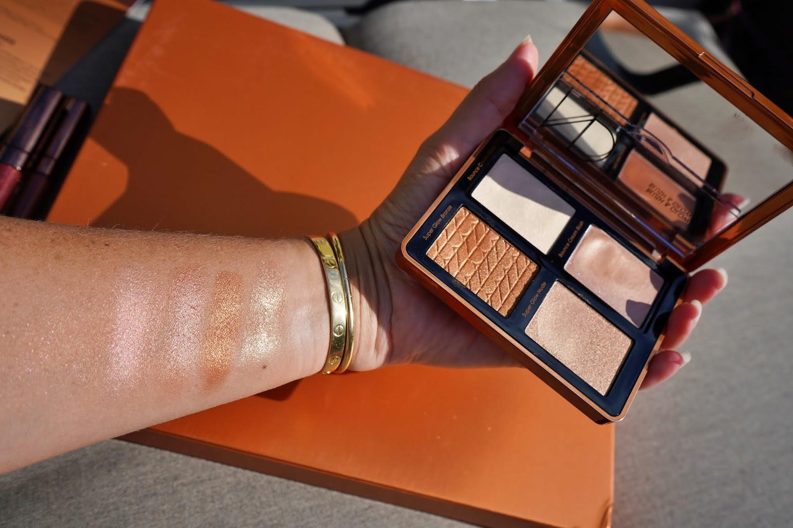 Natasha Denona bronze face palette swatches