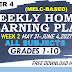 Week 3 Grades 1-10 Weekly Home Learning Plan Q4