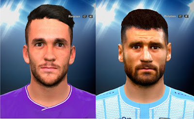 PES 2016 Gonzalo Rodiguez and Antonio Candreva Face by prince hamiz