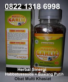 jual manfaat kapsul Habbat garlic oil Asli khasiat bawang putih tunggal
