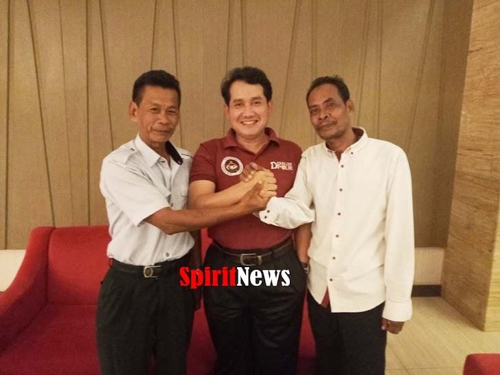 Kepala Desa Moncongloe Bulu, Menemui Komisioner Kompolnas di Makassar