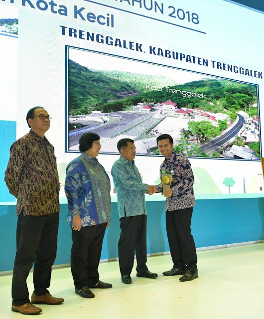 Kabupaten Trenggalek Kembali Raih Adipura Tahun 2018