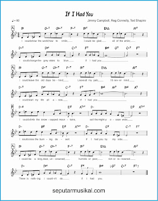 if i had you lagu jazz standar