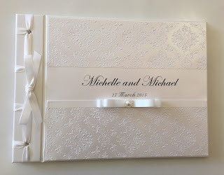 Angelic Wedding Guest Book