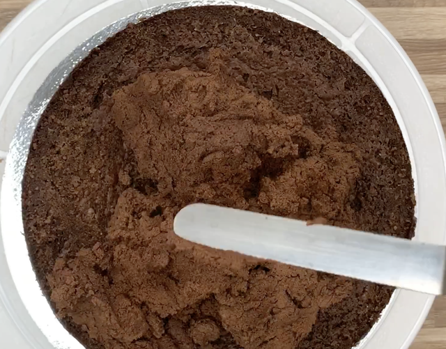 Top with chocolate ganache