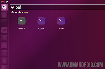 Membuka Terminal Ubuntu Linux