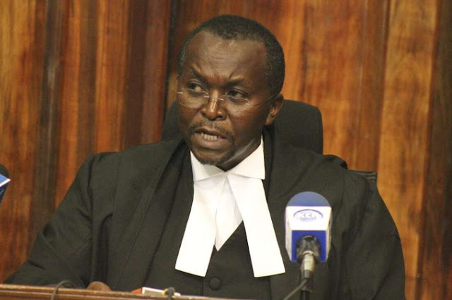 Justice Daniel Musinga at Court of Appeal photo