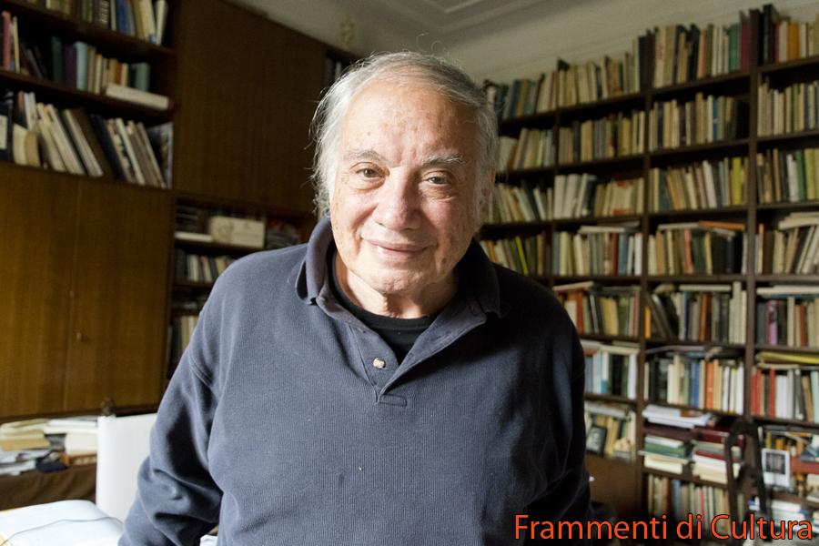 Tomaso Kemeny a casa sua nel suo studio il 18 novembre 2016