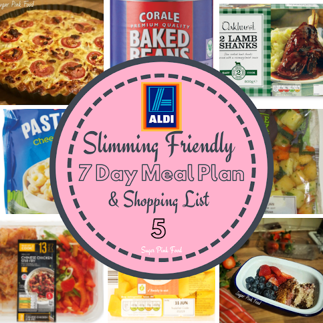 slimming world meal plan 7 day healthy low cost cheap meal plan