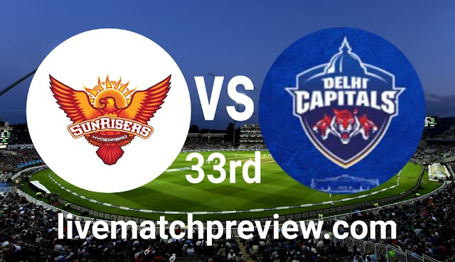 Today 100% Match Prediction-DC vs SRH-IPL T20 2021-33rd Match-Who Will Win?