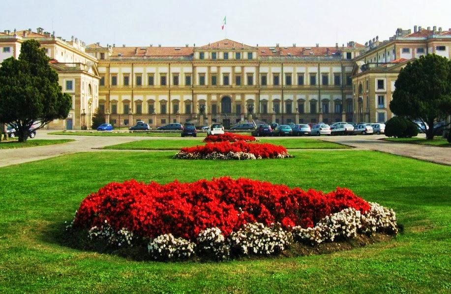 Giardino della Villa Reale Jardim Milão