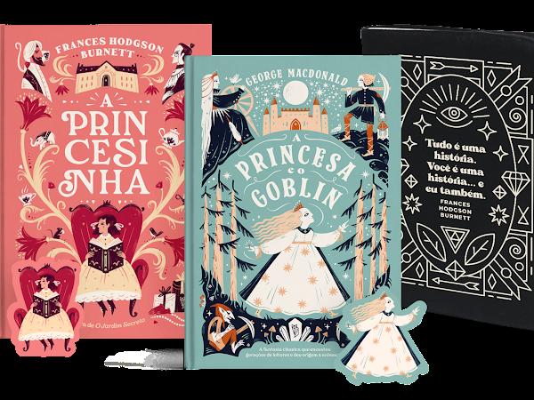 Financiamento coletivo: A Princesinha & A Princesa e o Goblin pela Editora Wish