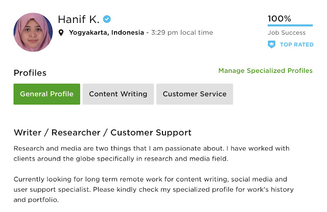 Mencari lowongan pekerjaan freelance