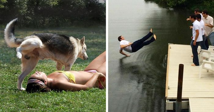 25 Perfectly Timed Disaster Photos Ever Captured
