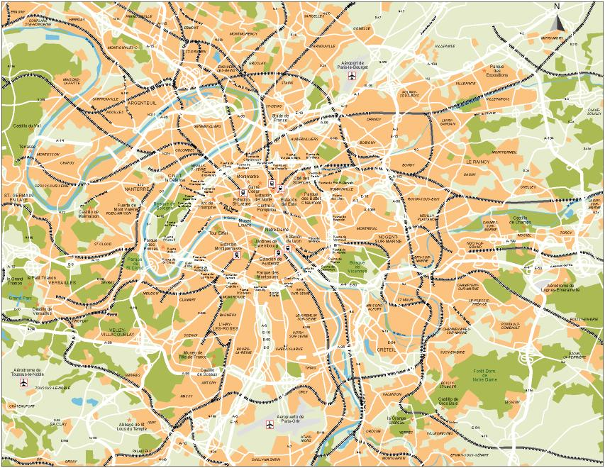 Map of Paris France - Free Printable Maps City Map Of Paris France on