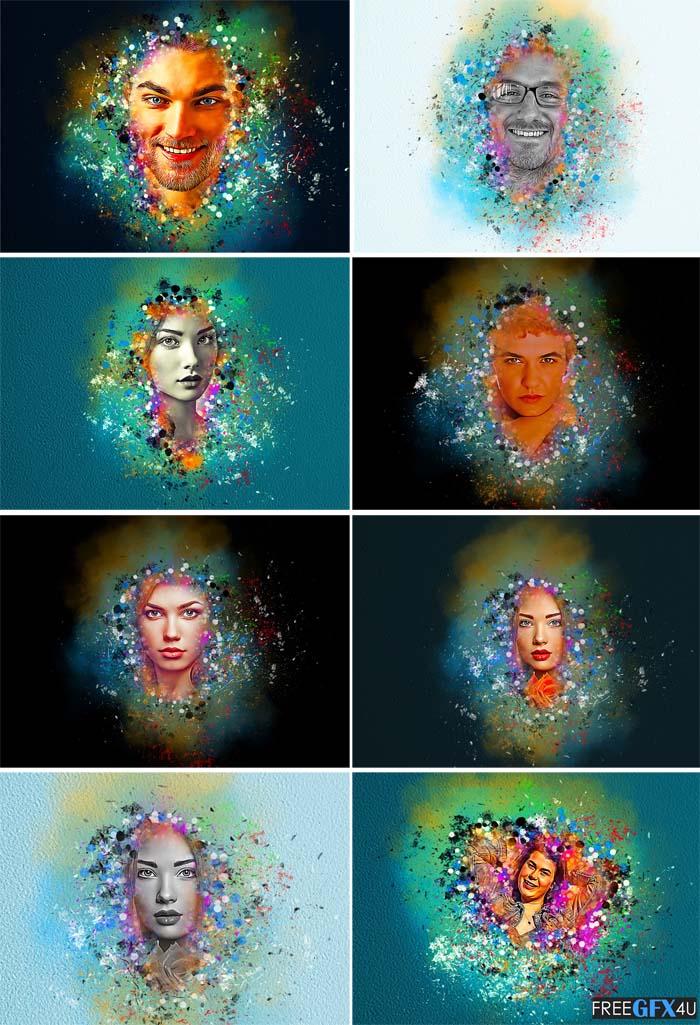Color Splash Effect Photoshop Action