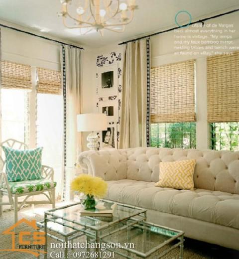 Sofa bền đẹp - giá rẻ sản xuất tại xưởng Nội Thất Chàng Sơn: Sofa đẹp 12