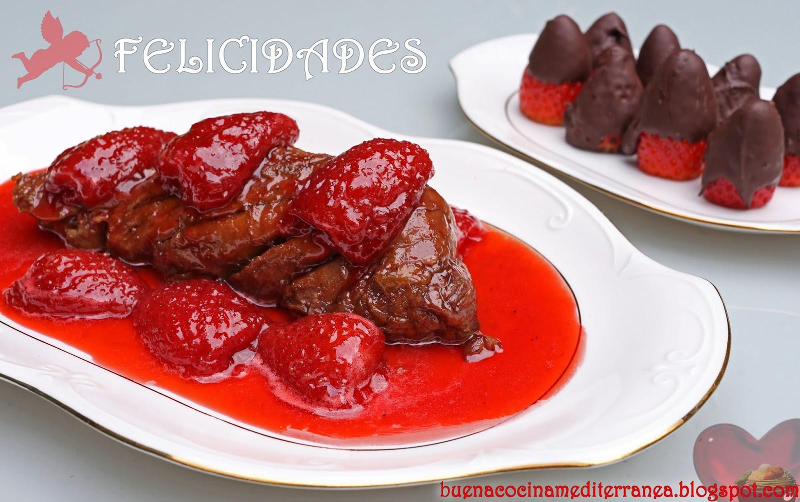 Receta de cocina para San Valentín