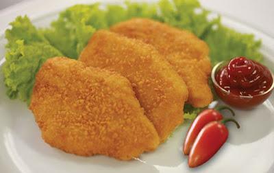 طريقة عمل الدجاج البانيه بقرمشة المطاعم
