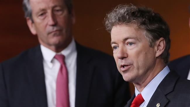 US Senator Rand Paul pushes bill to block US arms sale to Saudi Arabia