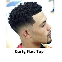 Curly Flat Top