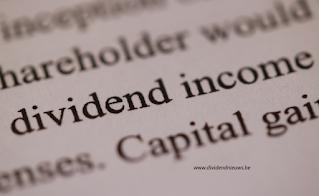 hoog dividend aandelen in belgie