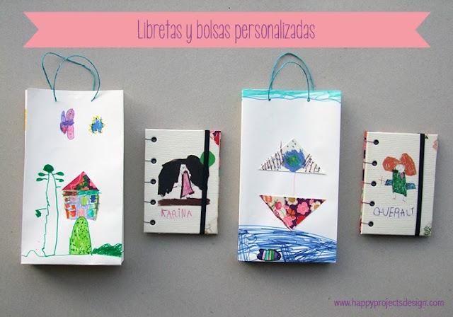 libretas y bolsas personalizadas