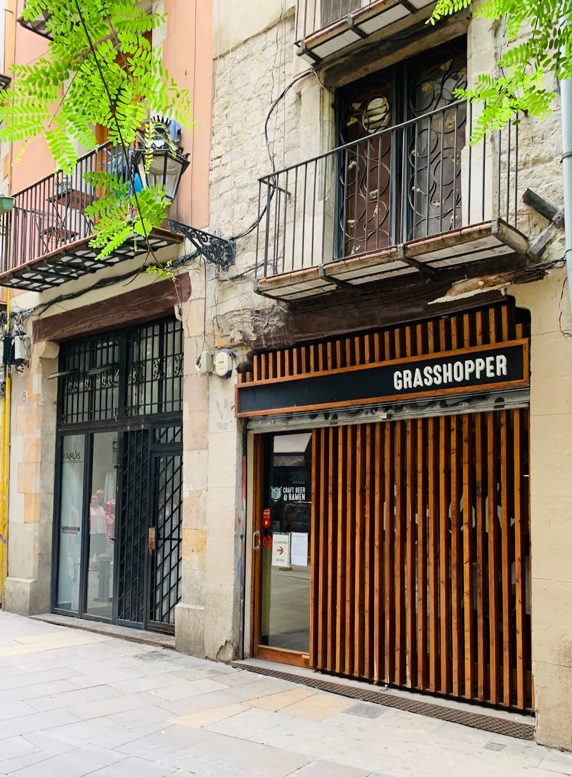 Ramen w Barcelonie – Grasshopper
