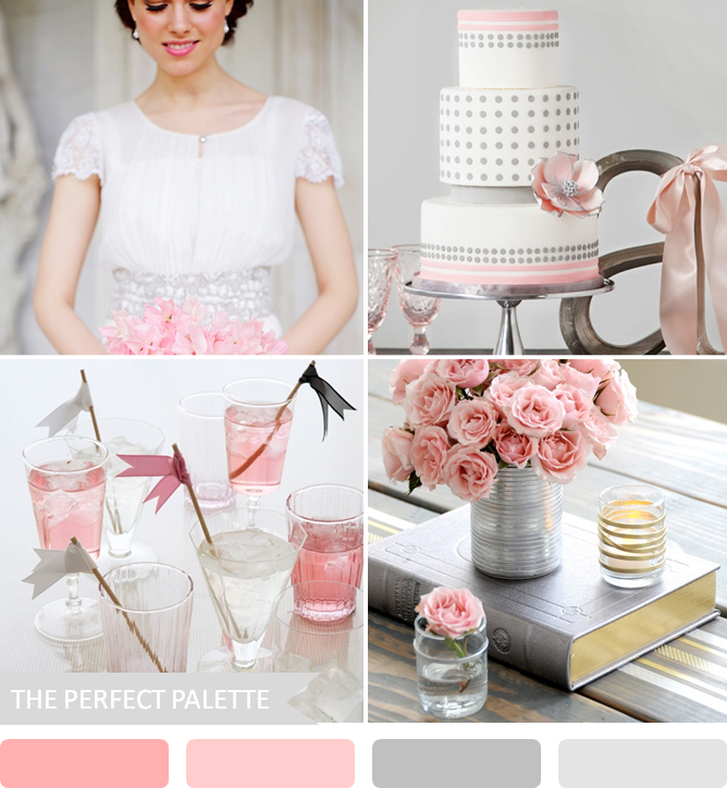 {Party Palette}: Shades Of Pink + Gray