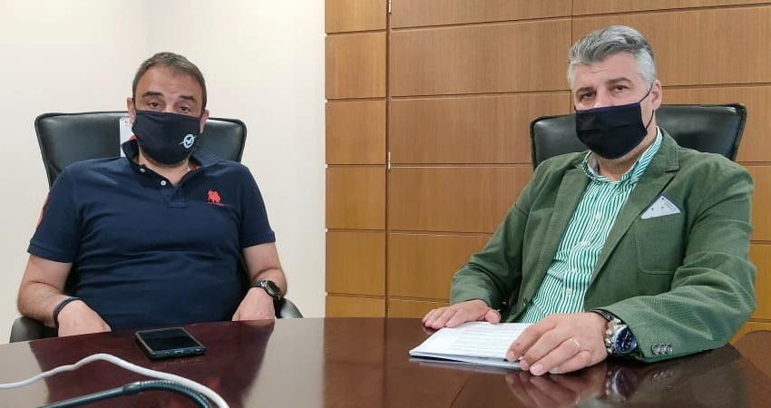 Συνάντηση του Προέδρου του Επιμελητηρίου Έβρου με τον Αερολιμενάρχη Αλεξανδρούπολης