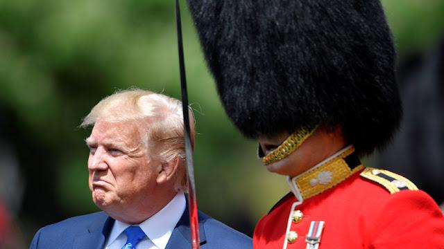 """Trump apaga CNN en Reino Unido: """"Todo negativo y tantas noticias falsas"""""""