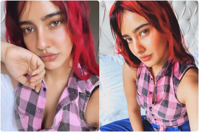 Neha Sharma Pink Highlights