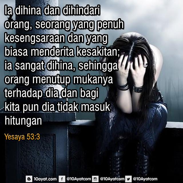Yesaya 53:3