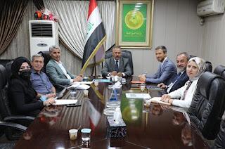 الوكيل الإداري لوزارة الزراعة يلتقي وفداً من مركز التجارة الدولية ITC لبحث مشروع سلاسل القيمة للمنتجات الزراعية العراقية