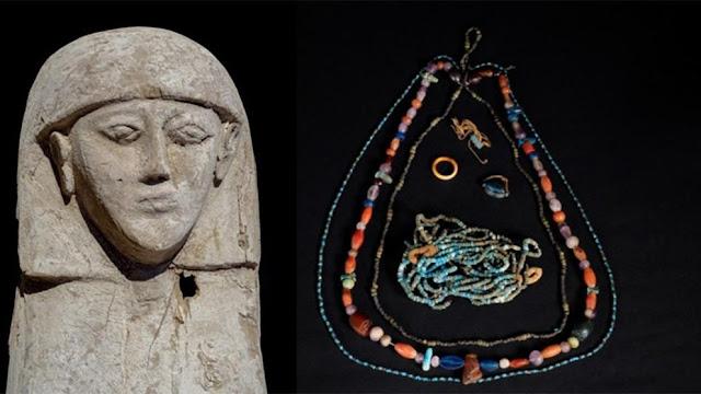 Giải mã bí ẩn xác ướp thiếu nữ mặc áo cưới 3.500 tuổi trong cỗ quan tài chứa đầy báu vật cổ xưa