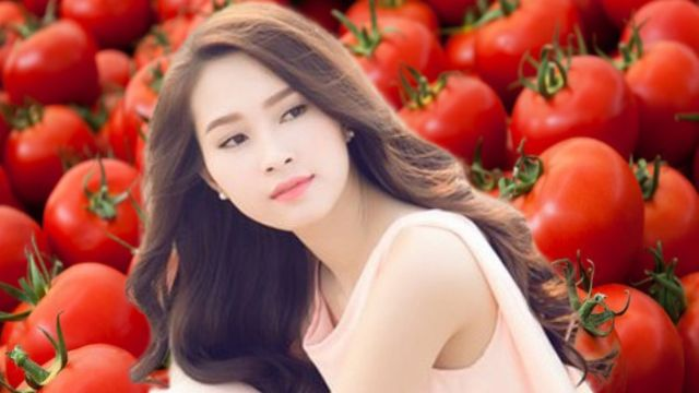 Cara alami memutihkan badan dengan tomat
