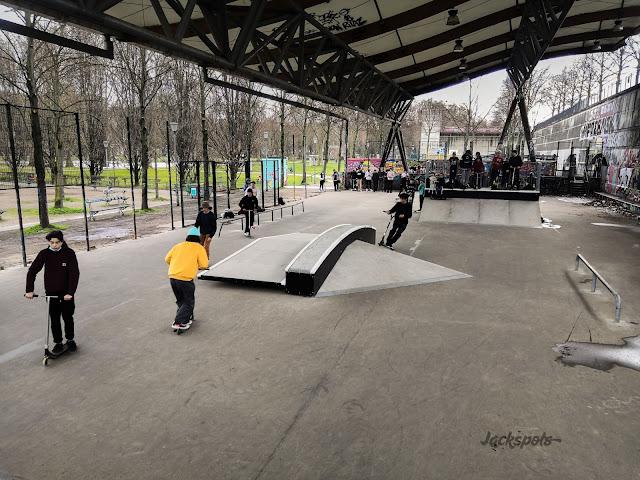 nouveau skatepark de bercy 2021