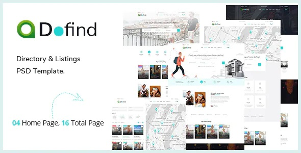 Best Multipurpose Directory Listing PSD Template