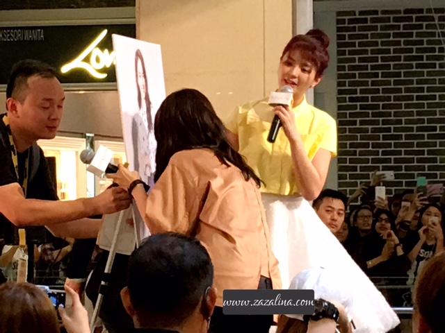 Song Ji Hyo Dekat Kuala Lumpur