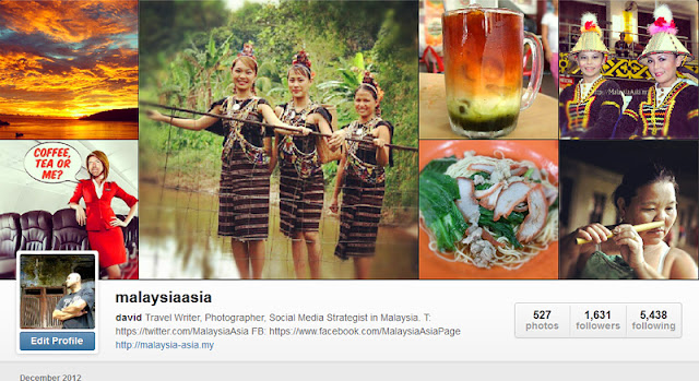 Instagram Malaysia Asia