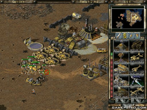 Command Conquer: Tiberian Sun + Firestorm *1999* torrent